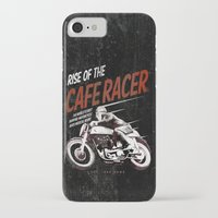 cafe racer iPhone & iPod Cases featuring Rise of the Cafe Racer II by RiseoftheCafeRacer