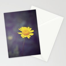 Miss Yellow Daisy Stationery Cards