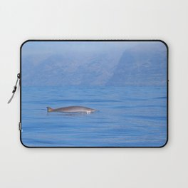 Beaked whale in the mist Laptop Sleeve