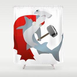 Hammer-Head Shower Curtain
