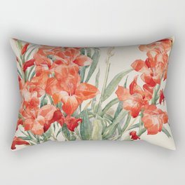 Charles Demuth - Red Gladioli Rectangular Pillow