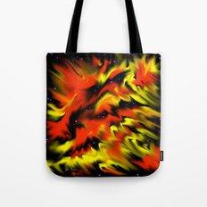 Hot Nebula Tote Bag