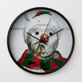 Frosty Jack - The 2 Hours & 45 Minutes Before Christmas Wall Clock