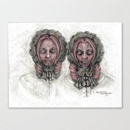 From the Ghoul Closet - The Outcasts Canvas Print