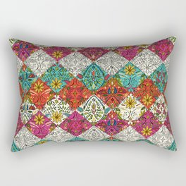 aziza patchwork Rectangular Pillow