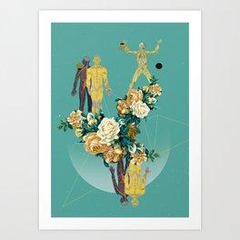 SUMMER IN YOUR SKIN 03 Art Print