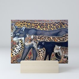 Big cats of Costa Rica Mini Art Print
