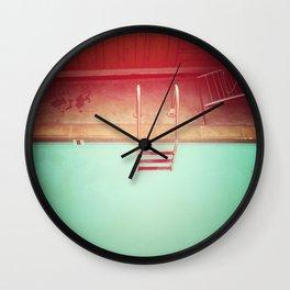 Summer Swimming Wall Clock