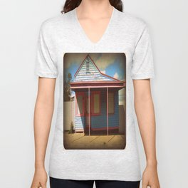 For sale at $2,000 - The house, not the Print! Unisex V-Neck