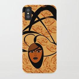 oriental colors iPhone Case