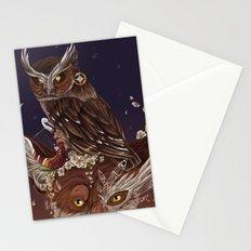 Solarowls mercury  Stationery Cards