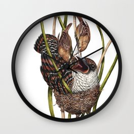 Baby Bird II Wall Clock