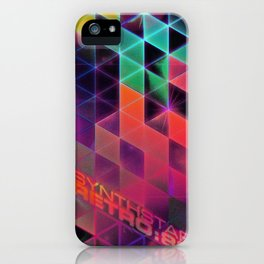 synthstar retro:80 iPhone Case