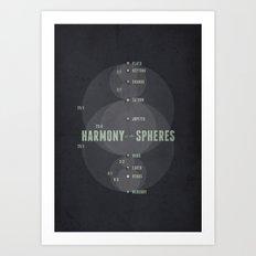 Harmony of the Spheres Art Print
