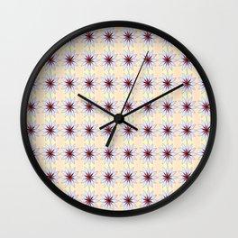 Little flower 3-bloom,blossom,petal,floral,leaves,flor,garden,nature,plant. Wall Clock