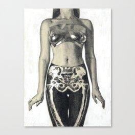 Sasha's Bones Canvas Print