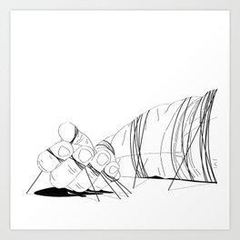Gulliver Art Print