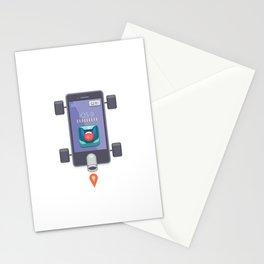 "Creative Drive - ""UI Designer Car"" Stationery Cards"