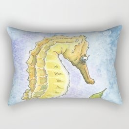 Seahorse Dreams Rectangular Pillow