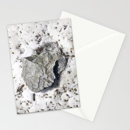 STONES SNOW NUGGET Stationery Cards