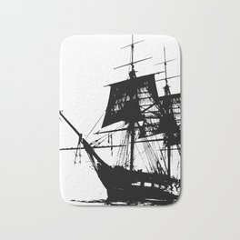 Pirate Ship Bath Mat
