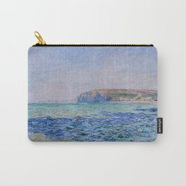 Shadows On The Sea At Pourville Claude Monet Carry-All Pouch