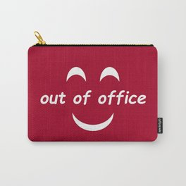 Out of Office Red Carry-All Pouch