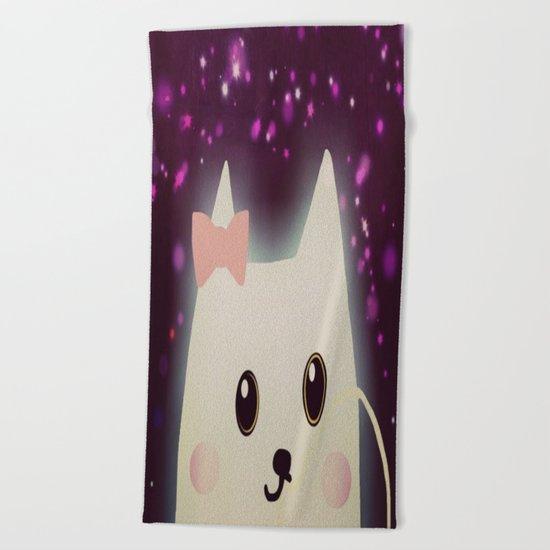 cat-114 Beach Towel