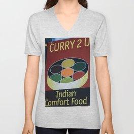 curry Unisex V-Neck