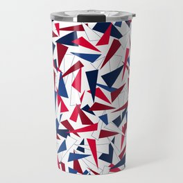 Break the Glass Ceiling! Red, White, & Blue Travel Mug