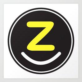 zollione store logo style icon fashion design art Art Print