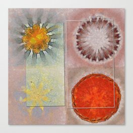 Flagonet Reality Flowers  ID:16165-093245-05721 Canvas Print
