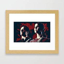 Jennings Cold War KGB V FBI Framed Art Print