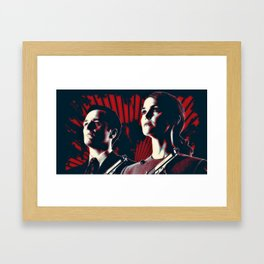 Jennings Cold War KGB V FBI Framed Art Print