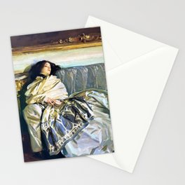 John Singer Sargent - Nonchaloir - Digital Remastered Edition Stationery Cards