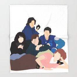 Breakfast Club Throw Blanket