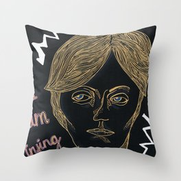 Brainwave Throw Pillow