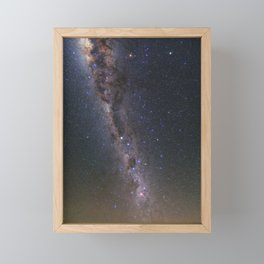 Milky Way in Chile 2 Framed Mini Art Print