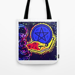 Ace of pentacles Tote Bag