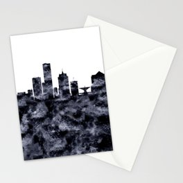 Milwaukee Skyline Wisconsin Stationery Cards
