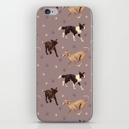 Rescue Dogs Pattern iPhone Skin