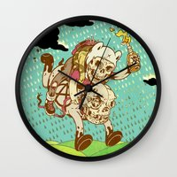anarchy Wall Clocks featuring Anarchy Time by Beery Method