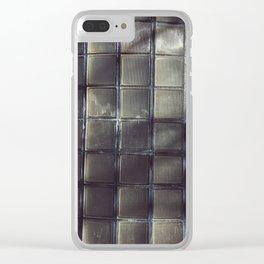 block Clear iPhone Case