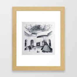 Art Gallery of Ontario Framed Art Print