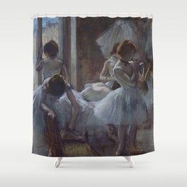 "Edgar Degas ""Dancers"" Shower Curtain"