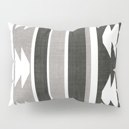 Province in Black and White Pillow Sham