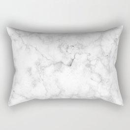 White marble decor | Marble stone | Marble design | White furniture Rectangular Pillow
