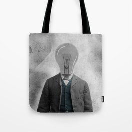 Light Bulb Bob Tote Bag
