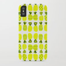 Modern Pineapples Painting iPhone X Slim Case