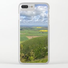Farmlands. Clear iPhone Case